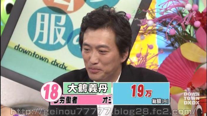 総額19万円。大鶴義丹の私服とは