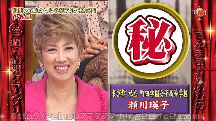 瀬川瑛子の高校時代の画像とは